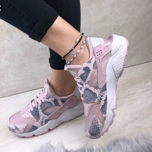 d07777ceb4 Nike Shoes | Air Huarache Run Prm Particle Rose Vast Grey | Poshmark